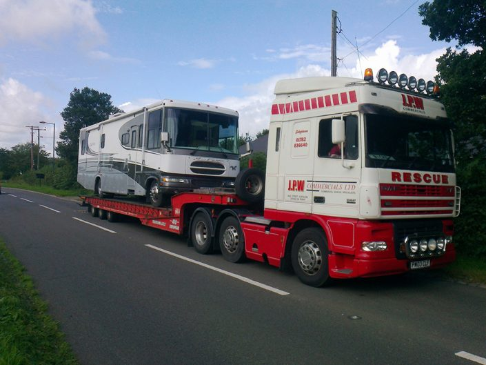 Motor Home Recovery